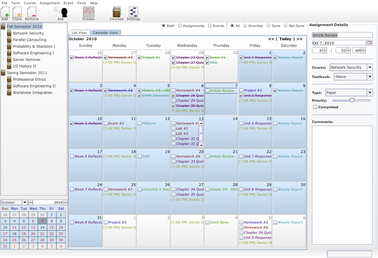 Get Organized full screenshot